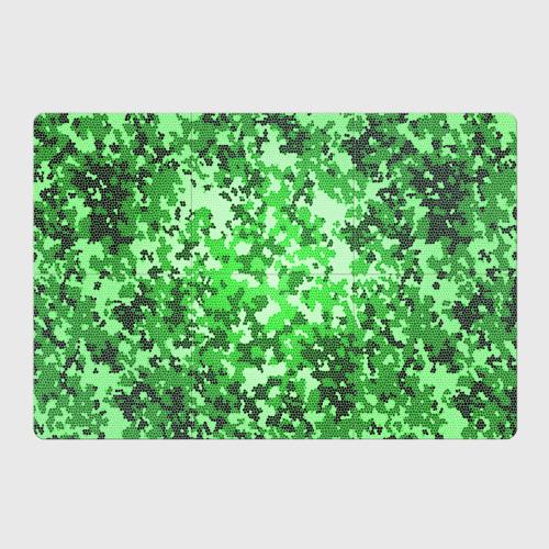 Камуфляж зеленые соты