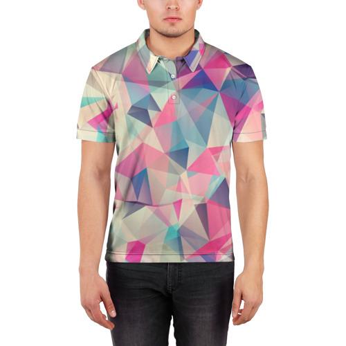 Мужская рубашка поло 3D  Фото 03, Pieces