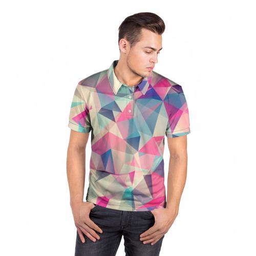 Мужская рубашка поло 3D  Фото 05, Pieces