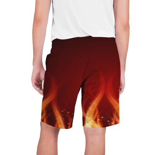 Мужские шорты 3D  Фото 02, Пламя