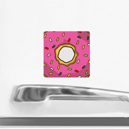 Магнит виниловый Квадрат  Фото 02, Пончик