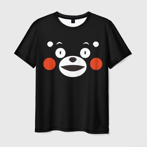 Мужская футболка 3D  Фото 01, Kumamon