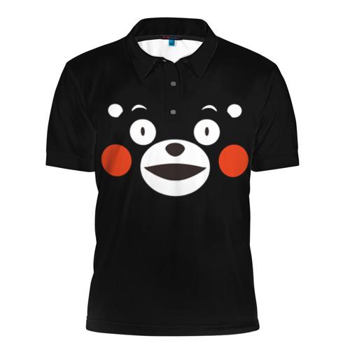Мужская рубашка поло 3D  Фото 01, Kumamon
