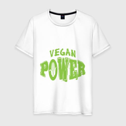 Мужская футболка хлопок Vegan Power