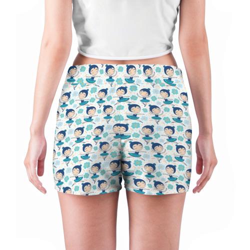 Женские шорты 3D  Фото 04, Балеринки