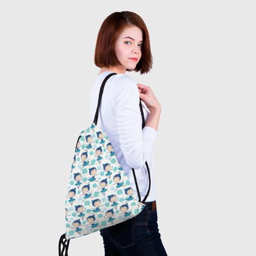 Рюкзак-мешок 3D  Фото 02, Балеринки