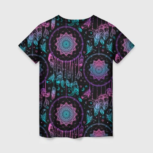 Женская футболка 3D Ловцы снов Фото 01