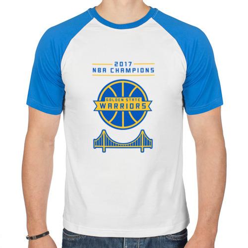 Мужская футболка реглан  Фото 01, Golden State Champions