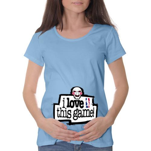 Футболка для беременных хлопок  Фото 01, Пила - люблю эту игру