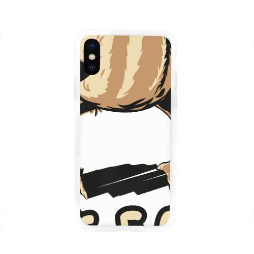 Чехол для Apple iPhone X силиконовый глянцевый Так, блэт Фото 01