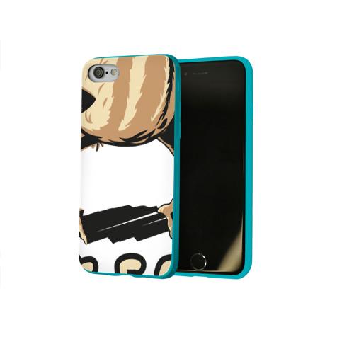 Чехол для Apple iPhone 8 силиконовый глянцевый Так, блэт Фото 01