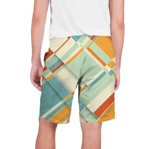 Мужские шорты 3D  Фото 02, Цветные прямоугольники
