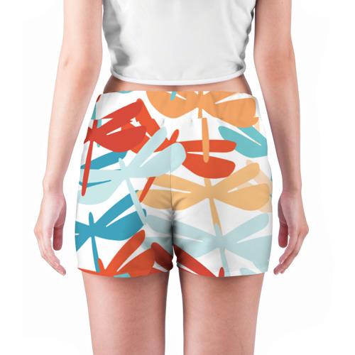 Женские шорты 3D  Фото 04, Стрекозы