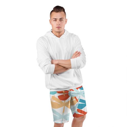 Мужские шорты 3D спортивные  Фото 05, Стрекозы