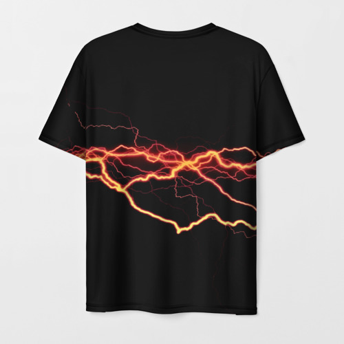Мужская футболка 3D Электрик Фото 01