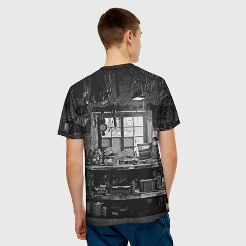 Мужская футболка 3D  Фото 02, Механик