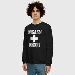 Orgasm + donor