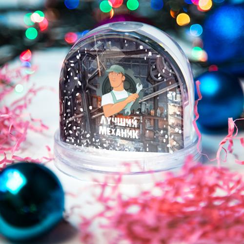 Водяной шар со снегом  Фото 03, Лучший механик!