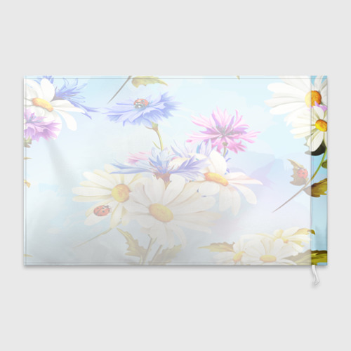 Флаг 3D  Фото 02, Flowers