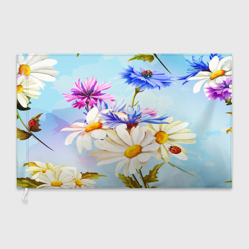 Флаг 3D  Фото 03, Flowers