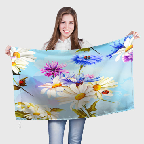 Флаг 3D  Фото 01, Flowers