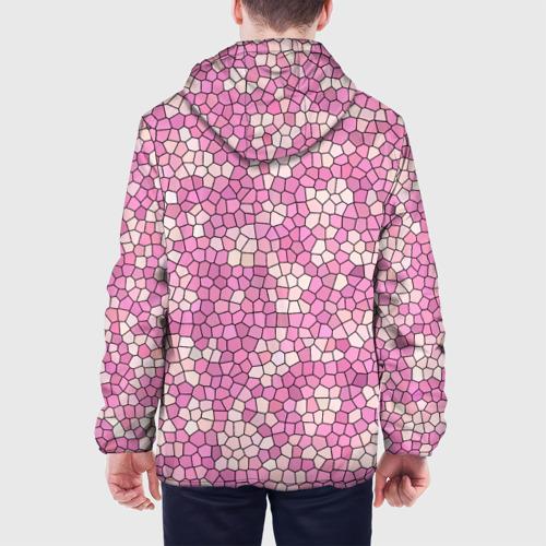 Мужская куртка 3D  Фото 05, Pink mosaic