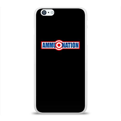 Чехол для Apple iPhone 6Plus/6SPlus силиконовый глянцевый  Фото 01, AMMU-NATION
