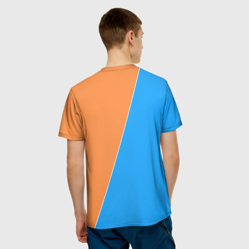 Мужская футболка 3D  Фото 02, Half-Portal
