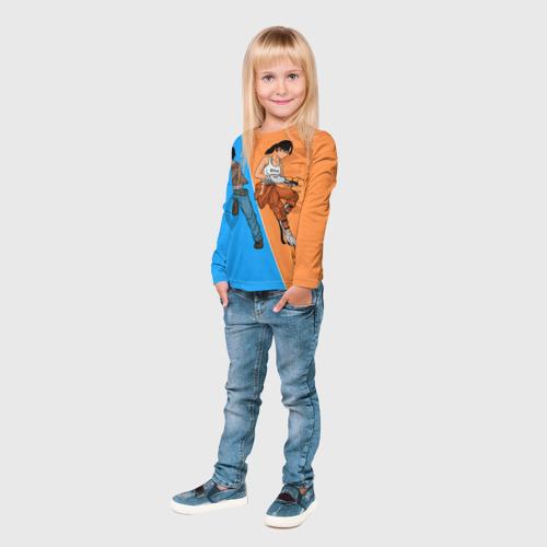 Детский лонгслив 3D Half-Portal Фото 01