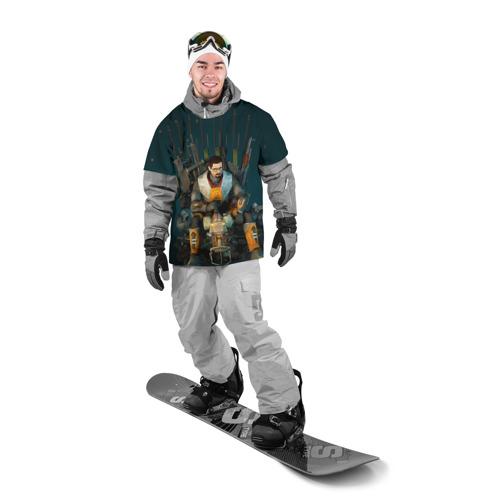 Накидка на куртку 3D  Фото 03, Throne of the Game