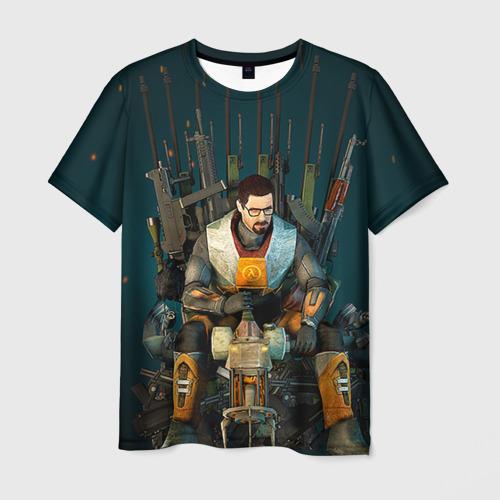 Мужская футболка 3D  Фото 01, Throne of the Game
