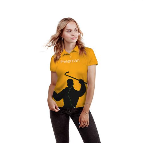 Женская рубашка поло 3D iFreeman Фото 01