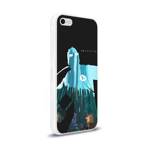 Чехол для Apple iPhone 5/5S силиконовый глянцевый Half-Life Фото 01