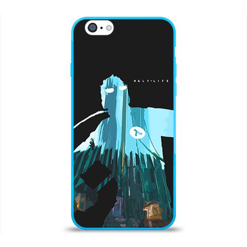 Чехол для Apple iPhone 6 силиконовый глянцевый Half-Life Фото 01