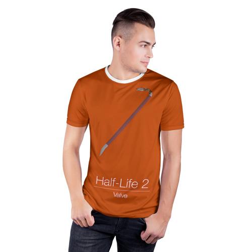 Мужская футболка 3D спортивная  Фото 03, Монтировка