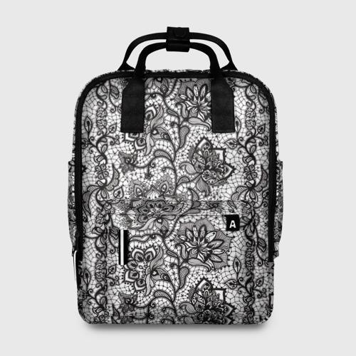 Женский рюкзак 3D Кружево Фото 01