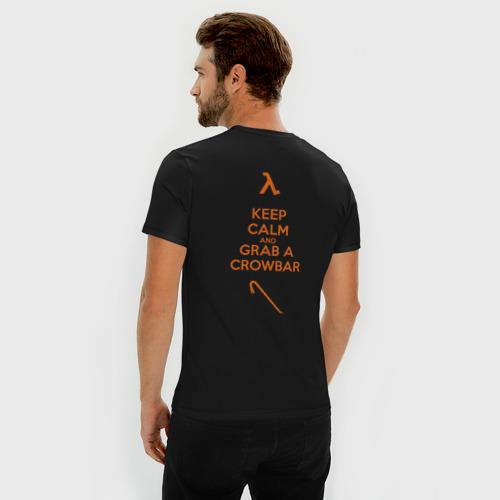 Мужская футболка премиум  Фото 04, Монтировка и спокойствие