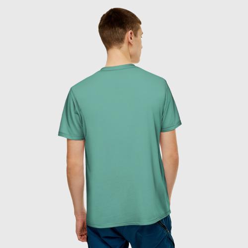 Мужская футболка 3D Недоумевающий Винсент Фото 01