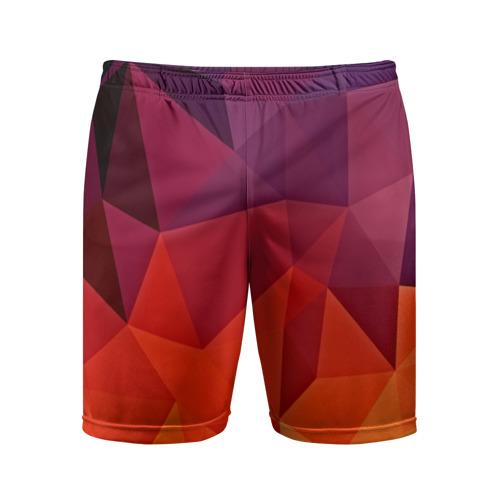 Мужские шорты 3D спортивные Geometric