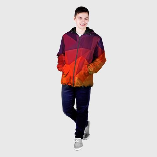 Мужская куртка 3D  Фото 03, Geometric
