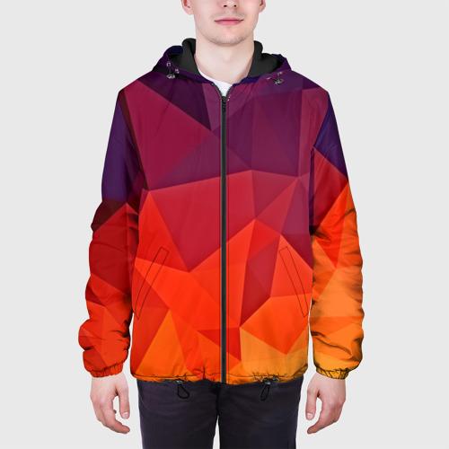 Мужская куртка 3D  Фото 04, Geometric