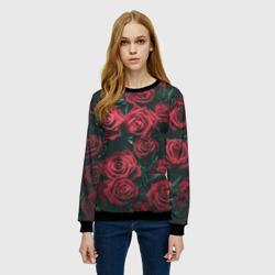 Бархатные розы