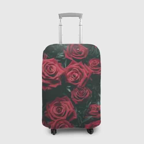 Чехол для чемодана 3D  Фото 01, Бархатные розы
