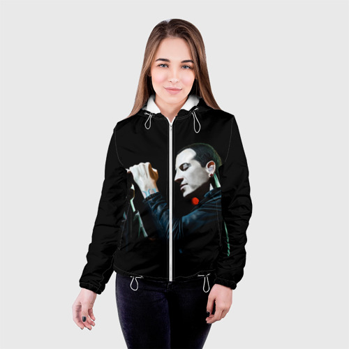 Женская куртка 3D  Фото 03, Chester Bennington
