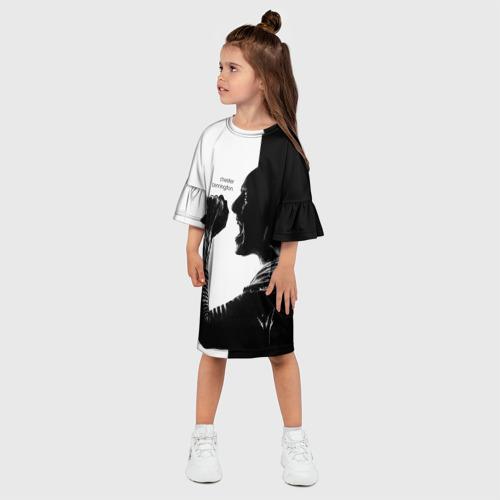 Детское платье 3D Chester Bennington Фото 01