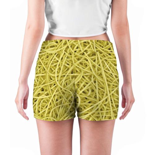 Женские шорты 3D  Фото 04, Макароны
