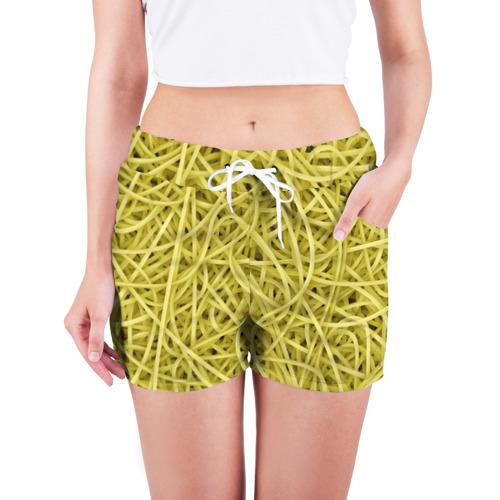 Женские шорты 3D  Фото 03, Макароны