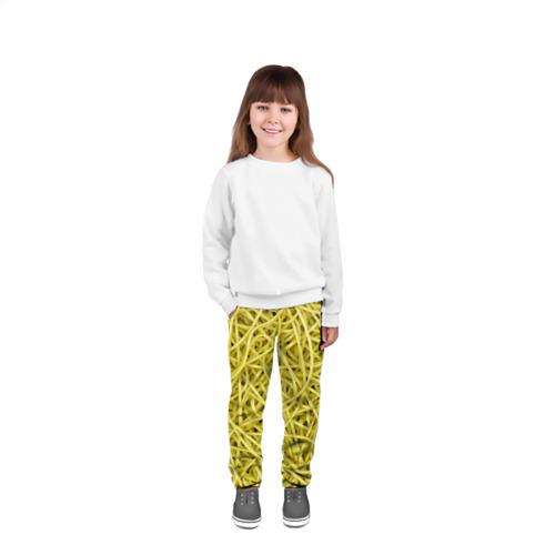 Детские брюки 3D  Фото 04, Макароны