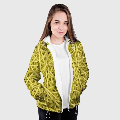 Женская куртка 3D  Фото 04, Макароны