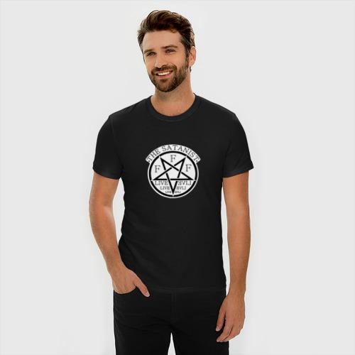 Мужская футболка премиум  Фото 03, The Satanist